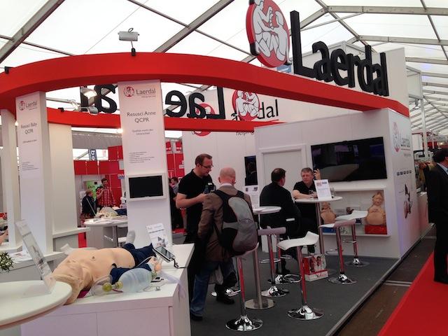 Stand Firma Laerdal Rettmobil