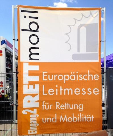 Eingang Rettmobil 2014