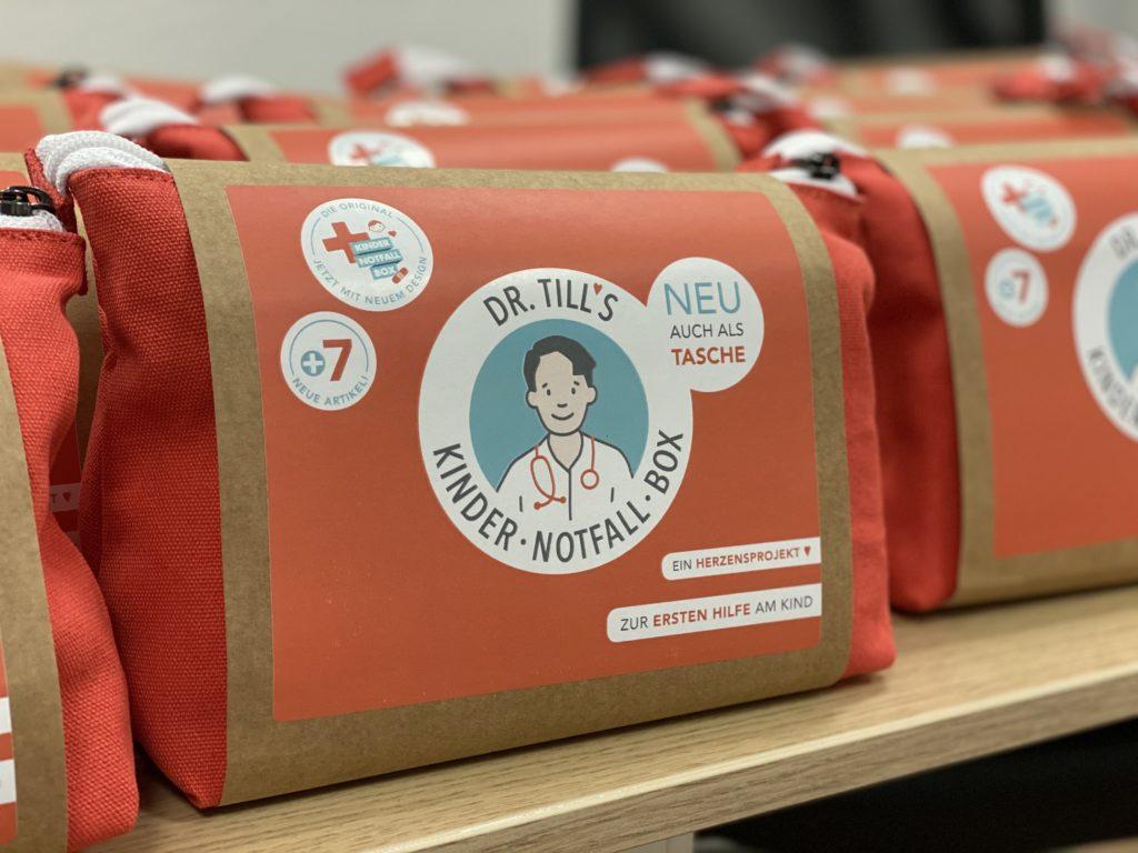 Kindernotfall-Tasche für Erste Hilfe am Säugling / Kind